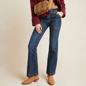 Pilcro and the Letterpress High Rise Bootcut Jeans